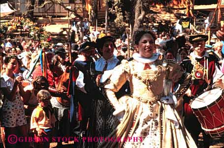 Stock Photo #2790: keywords -  actor actress california costume entertain fair faire festival fun horz marin medieval not party performance play pleasure queen reenact released renaissance role show summer woman