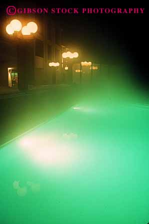Stock Photo #2959: keywords -  abstract cloud condensation cooling fog lighting moisture night pool steam swim swimming vapor vert water
