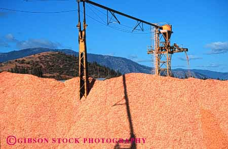 Stock Photo #3028: keywords -  chip forest horz lumber mill pile process product wood