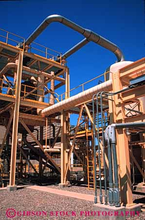 Stock Photo #3061: keywords -  alternative california complex conduct conversion convert duct electricity energy exchange generate geothermal heat holtville industry insulate machine metal natural paint pipe plant plumb power renewable research resource site steam steel vert
