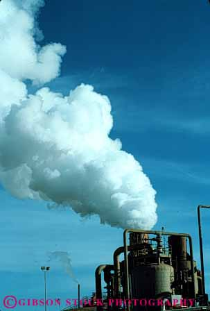 Stock Photo #3194: keywords -  air cloud discharge emission exhaust factory industrial industry moisture pollution release sky stack steam vent vert waste