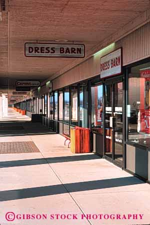 Factory Outlet Shopping Mall Port Huron Michigan Stock