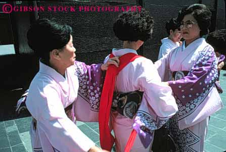 Stock Photo #4252: keywords -  annual asian blossom celebrate celebration cherry color colorful costume dance display ethnic event festival francisco horz japanese japantown minority music performance pink san show together tradition unity women