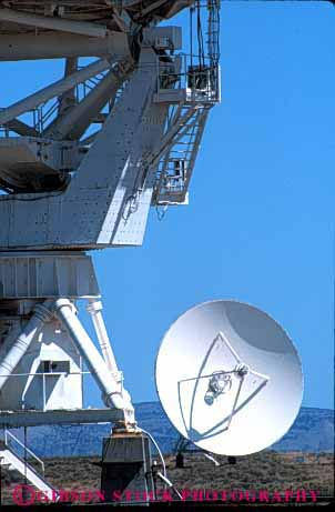 Stock Photo #4255: keywords -  array astronomy astrophysics big circle dish industry large length listen many mexico new oval radio research round science sky space tall technology telescope up vert very wave white
