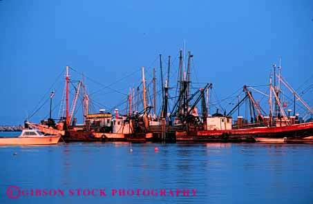 Stock Photo #4343: keywords -  blue boat boats calm cape cod craft dock dusk fishing float horz mood moody peaceful quiet recreation sky still vessel water wharf