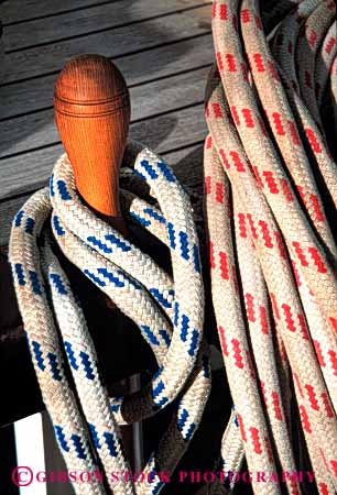 Stock Photo #4350: keywords -  boat boating coil craft equipment float lines recreation rope sail toy vert vessel water