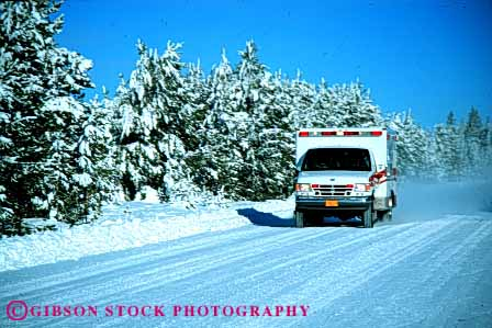 Stock Photo #4467: keywords -  action aid ambulance car caution cautious driving emergency emt first horz hurry medical medicine motion move movement moving rescue respond responder responding responds response risk road rush save season slippery snow snowy street vehicle winter