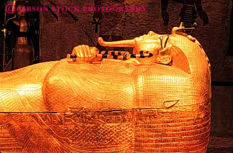 Stock Photo #4574: keywords -  artifact casino casket egypt entomb entombed fake gold golden grave historic history horz king las luxor pretend replica replicate replicated replication royal royalty sarcophagus shiny simulated tomb tutankhamen vegas