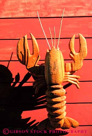 Stock Photo #4579: keywords -  animal art artistic carve carved carving chisel craft create creative cut lobster sculpture vert wood