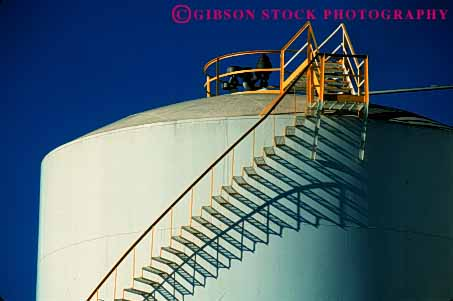 Stock Photo #4628: keywords -  angle angles architecture design elevate elevation function geometric geometry height horz industry right shadow stair staircase stairs step steps storage tank up walk