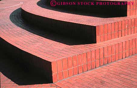 Stock Photo #4665: keywords -  alternate alternating angle art artistic brickwork circle construction craft craftsmanship curve decorate decorated decorative edge grid horz line masonry patio pattern perpendicular radius rectangle rectangles red right round stone texture turn wall