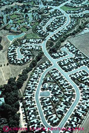 Stock Photo #4807: keywords -  aerial area building city civilization community convert cover engulf expand grow growing growth metropolitan neighborhood out over pattern residential sonoma sprawl spread street take urban urbanization vert