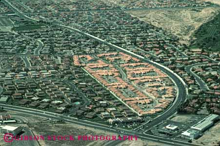 Stock Photo #4814: keywords -  aerial area building city civilization community convert cover desert engulf expand grow growing growth home horz houses las metropolitan neighborhood out over sprawl spread take urban urbanization vegas