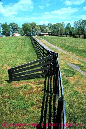 Stock Photo #4884: keywords -  agriculture barn building clean country countryside farm fence grass green home horse open pasture ranch range rangeland rural space stable vert virginia