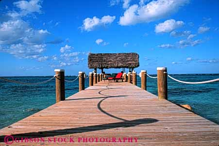 Stock Photo #4901: keywords -  atlantic bahamas calm coast dock horz landscape nassau ocean pattern scenic sea seascape shore tropical water wood