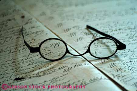 Stock Photo #4929: keywords -  americana antique antiques collector collectors eye eyes glasses hand historic history horz item lens lenses old second see tradition traditional used valuable vintage vision