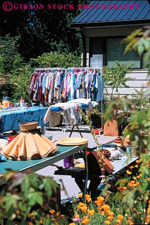 Stock Photo #4939: keywords -  barter business cash cheap down garage hand home household inexpensive little me merchandise residential retail sale second sell small tag temporary use used vert yard