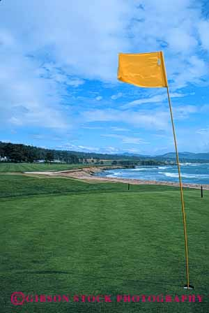 Stock Photo #5075: keywords -  beach carmel close coast course cut game golf golfing grass green groom groomed landscape landscaped lawn manicure manicured ocean pebble shore smooth surf trim trimmed vert