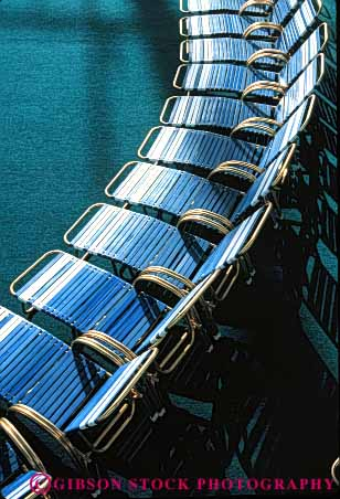 Stock Photo #5087: keywords -  aluminum arc array chairs chase cruise curve deck design exterior furniture line lounge neat organize organized parallel pattern plastic repeat repetion resistant row seat ship sit synthetic vert weather