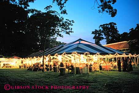 Stock Photo #5103: keywords -  anchor angle angular assemble class conference convention dining dusk engineer engineered engineering fabric gathering geometric geometry group horz lift light lighting line lines meet meeting outdoor outside party portable reception retreat roof shelter summer sunset tension tent