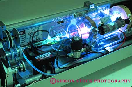 Stock Photo #5268: keywords -  argon beam chamber concentrate concentrated electric electrical electricity equipment exact glass high horz industry intense laser light lighting look manufacture manufacturing power powerful precise precision pure ray research science tech technical technology