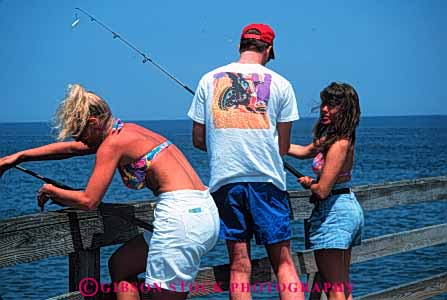 Stock Photo #5383: keywords -  adult class college dock field fish fishing gender group high horz interaction man mixed recreation school share social sport student students summer teen teenager teenagers together trip woman women young
